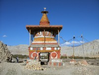 Buddhist Chorten in Mustang