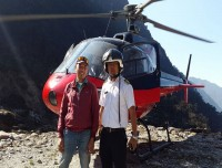 Trekking and Climbing with helicopter ride
