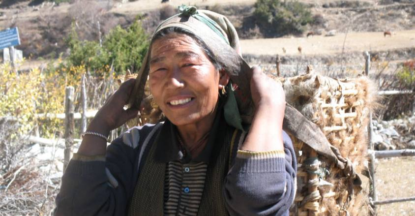 Peoples in Mountain areas of Nepal
