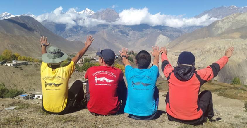 Trekking in AC. Thorong La pass Trek