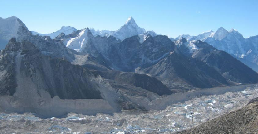 Khumbu Glacier Trekking in Khumbu Region