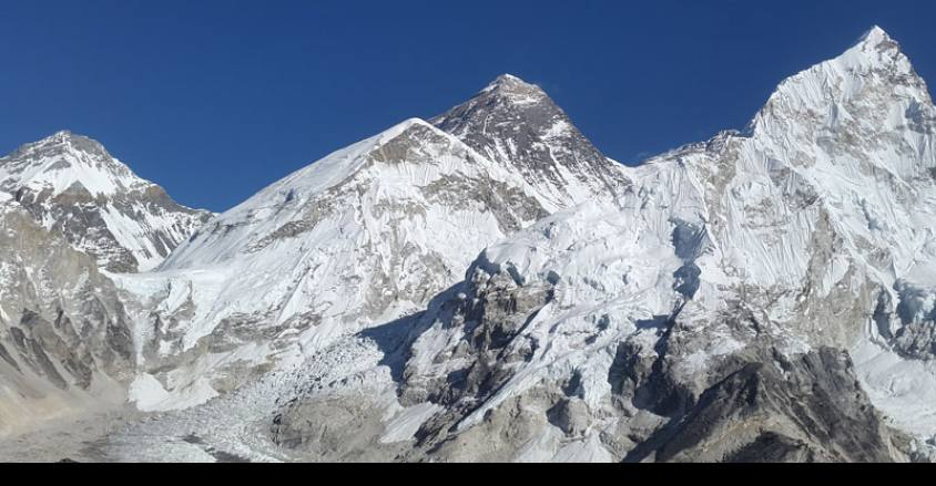EBC trek with Island peak climbing