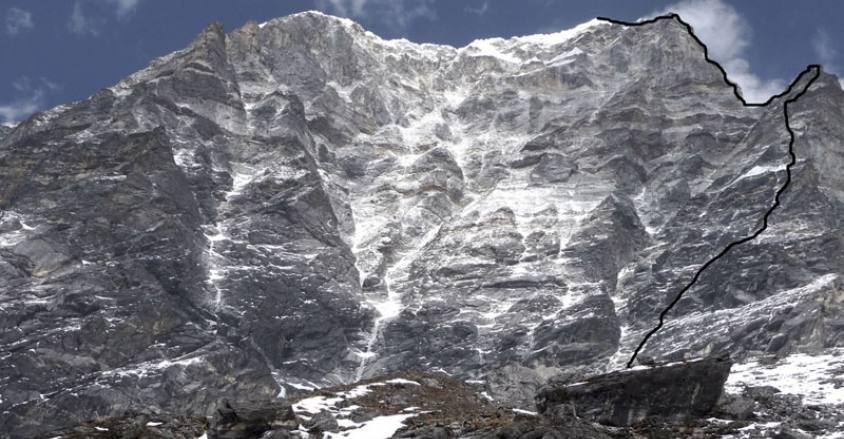 Mt. Kyajo Ri in Khumbu Region