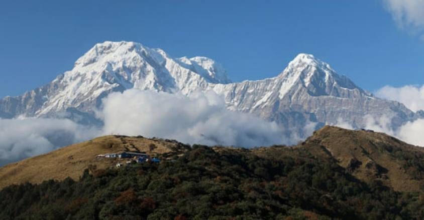 Mt.Annapurna South and Hiuchuli / Mardi Himal Trek