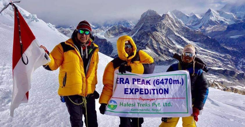 Mera Peak Expedition 2019 / Indonesian teams