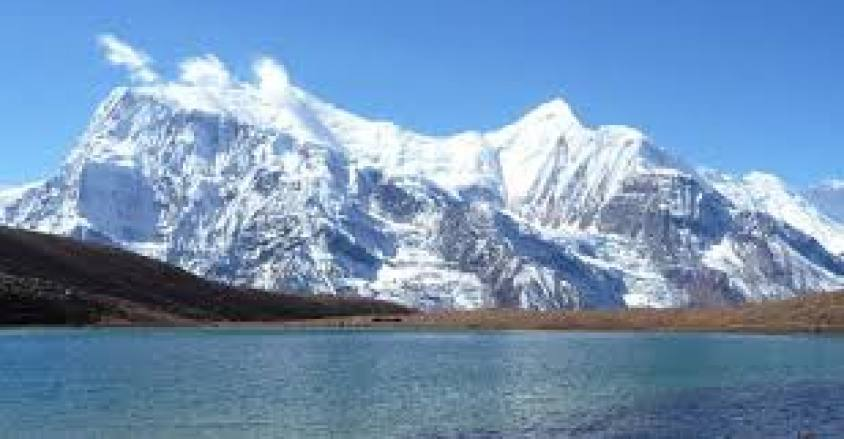 Tilicho Lake world highest glacier lake