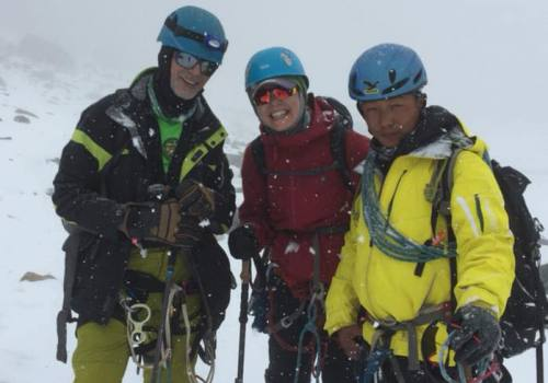 EBC and Lobuche Peak Climbing.