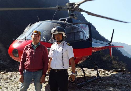 Mera Peak summit and Helicopter to Lukla