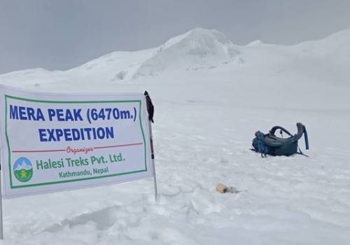 Phaplu to Mera Peak Trekking and Climbing